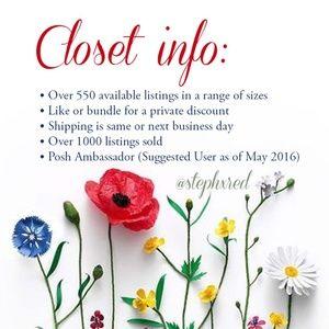 Other - Closet Info